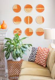 Wall Decoration Paper Design DIY Basket Wall Art Design Improvised 41