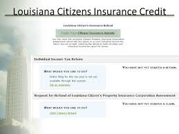25 louisiana citizens insurance credit individual income 2017 new year changes ppt