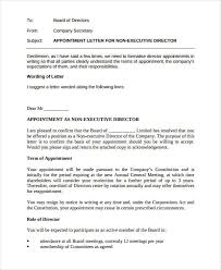 Appointment Letters In Doc Cool Company Appointment Letter Template 48 Free Word PDF Format