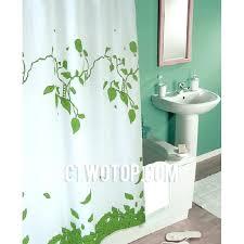 green shower curtain dark green shower curtain liner
