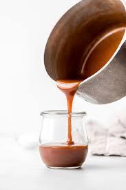 4.5 out of 5 stars. Homemade Salted Caramel Sauce Garnish Glaze