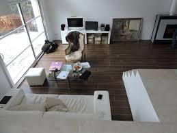salon demi niveau maison personnalisée