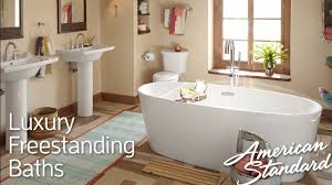 Luxury Freestanding Tubs - Soothing Deep Soaking Bathtubs - YouTube