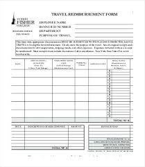 Reimbursement Invoice City Of Training Travel Authorization ...
