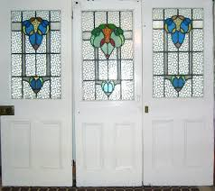 stained glass doors inside tree door panels by unknown designer and manufacturer remodel 16