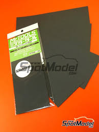 sandpaper. mr waterproof sand paper #1500 | sandpaper manufactured by hobby (ref. mt