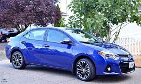 toyota corolla 2015 blue. a review of the 2015 toyota corolla s blue