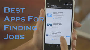 best job search apps 3 best android apps for searching jobs youtube