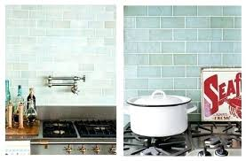sea glass tile bathroom impressive interesting sea glass tile sea glass tile seafoam glass subway tile