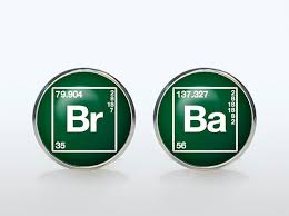 Breaking Bad Cufflinks Silver Plated Br Ba Cuff Links Accessories Interesting Ba Quote