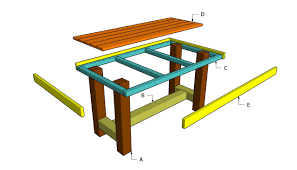 wooden outdoor furniture plans. Wooden Table Plans Outdoor Diy Shed Playhouse Furniture