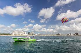 Fort Lauderdale Parasail Customers Having Fun With Us Picture Of Fort Lauderdale