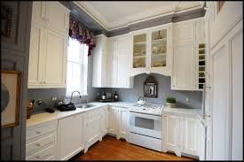 con awesome best white paint for kitchen cabinets