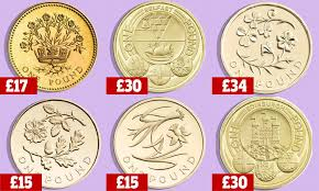 Pound Coin Designs Worth Money Do You Have A Pound Coin Worth 30 In Your Pocket Coin