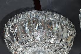 crystal flush mount chandelier regency cut crystal drop down flush mount chandelier for melinda 3 crystal flush mount chandelier