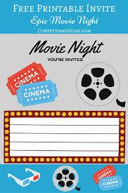 Movie Night Invitation Templates 30 Beautiful Movie Night Invitation Template Pictures Awesome