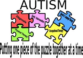 Autism Puzzle Logo Clip Art at Clker.com - vector clip art online ...
