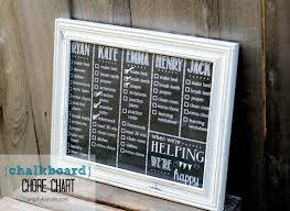 Wipe Off Chore Chart Dry Erase Chalkboard Chore Chart Oldsaltfarm Com