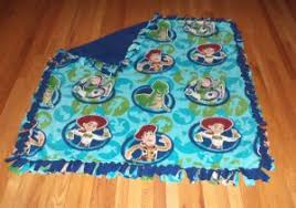 How To Make A Tied Fleece Blanket 10 Steps With Pictures Lovely ... & Toy Story Fleece Tie Blanket Crafts Pinterest 10 Inspiring Blankets Tied Adamdwight.com