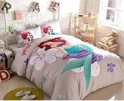 The Little Mermaid Duvet Cover Set Queen Size 2 Pillow Case 1 Flat ... & The Little Mermaid Duvet Cover Set Queen Size 2 Pillow Case 1 Flat Sheet  For Child Adamdwight.com