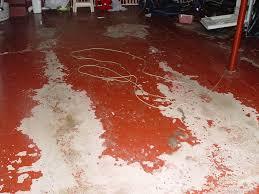 concrete garage floor paint finishing