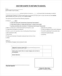 Doctors Excuse Return To Work Fresh Fake Doctor S Note Templates For ...