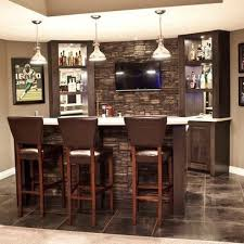 Basement bar designs with winsome style for living room design and  decorating ideas 1
