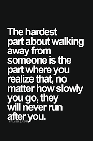 Running Away Quotes
