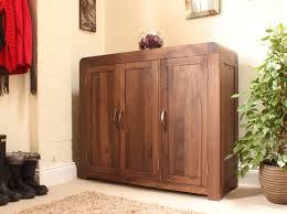 strathmore solid walnut furniture shoe cupboard cabinet. Strathmore Solid Walnut Furniture Shoe Cupboard Cabinet Large Hallway Storage T