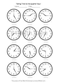 Pictures On Math Worksheets For Telling Time Wedding Ideas ...