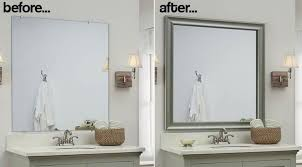 silver framed bathroom mirrors. Interesting Mirrors Furniture Framed Bathroom Mirror Fancy Silver 43 Regarding  Incredible Property White Remodel For Mirrors M