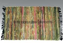 woven rag rugs chindi rug diy