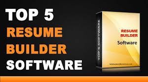Resume Building Software resume building software best resume builder software top list 1
