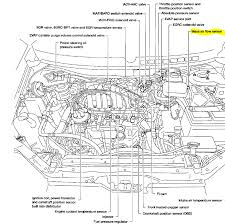 1999 mercury villager diagram a diagnostics on the fuel pressure it is bolted to the air filter housing