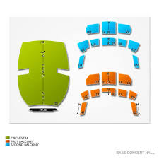 Bass Concert Hall Austin Seating Chart With Numbers Bass Concert Hall Austin Tickets