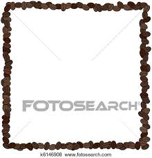 coffee beans border clipart. Beautiful Coffee Stock Illustration  Coffee Bean Frame Fotosearch Search EPS Clip Art  Drawings On Beans Border Clipart P