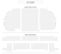 Eugene Oneill Theatre Seating Chart View From Seat New