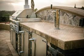 stone veneer bbq islands outdoor kitchens gallery western outdoor design and build serving san go orange riverside counties