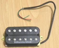 pup y przetworniki pickupy pups przystawki gitara online pl dimarzio p2