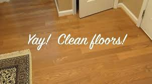 hardwood floor vinegar