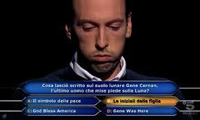 Chi vuol essere milionario, la domanda da un milione di euro ...