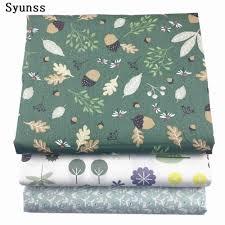 Syunss New Floral Printed Twill Cotton Fabric <b>DIY Handmade</b> ...