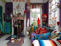 spacious bohemian living room ideas of in a gypsy wagon gypsy style home