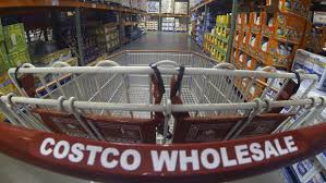 brittany stinson was admitted to five ivy league colleges after  a costco shopping cart is shown at a costco whole store in carlsbad california