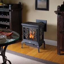 Small Gas Fireplace For Bedroom Fair Black Steel Direct Vent Gas Fireplace Ideas And Awesome Black