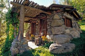Here we have two wonderful stone cottages. Each of equal size and  craftsmanship. Which would you choose?