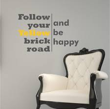 follow your yellow brick road wizard of oz by willowcreeksigns 35 00 vinyl decorvinyl  on wizard of oz vinyl wall art with 21 best baby s room images on pinterest babies stuff baby boy