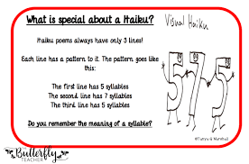 What Is The Pattern Of A Haiku Gorgeous 48 Tips For Teaching Haiku Poetry The Butterfly Teacher