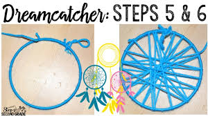 Making Dream Catchers With Pipe Cleaners Amazing How To Make A Dreamcatcher Step Into 32nd Grade