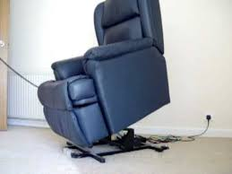 orthopedic recliner chairs. get quotations · orthopedic riser / recliner black leather chair chairs e